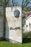 Eduard Vilde Monument Tallinn Lizenzfreies Stockfoto