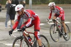 Eduard Vorganov di Team Katusha Fotografia Stock