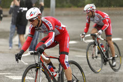 Eduard Vorganov of Team Katusha Stock Photography
