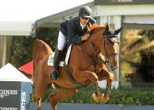 Eduardo Alvarez Aznar rides horse Othello D'Auge Royalty Free Stock Image