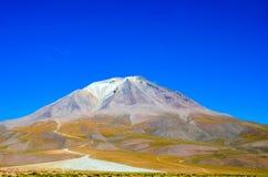 Eduardo Avaroa Andean Fauna National reserv, Bolivia Royaltyfri Fotografi