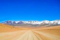 Eduardo Avaroa Andean Fauna National reserv, Boliviana nationell reserv, Bolivia Royaltyfri Foto