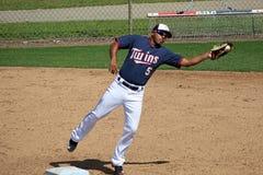 Eduardo Escobar van de Minnesota Twins Royalty-vrije Stock Foto's