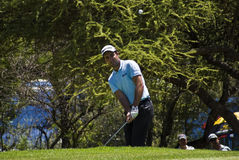 Eduardo Molinari on the 7th Green Stock Photo