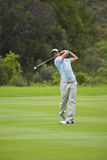 Eduardo Molinari on the Fairway Royalty Free Stock Image