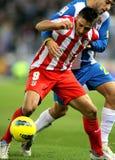 Eduardo Salvio of Atletico de Madrid Stock Images