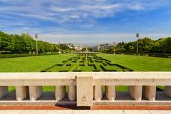 Eduardo VII park Royalty Free Stock Photography