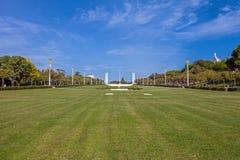 Eduardo VII Park in Lisbon, Portugal Royalty Free Stock Photography
