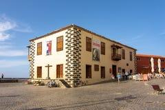 Eduardo Westerdahl muzeum dzisiejszej ustawy Museo De Arte contemporà ¡ neo Eduard, Puerto De La Cruz, Tenerife, Hiszpania obrazy royalty free