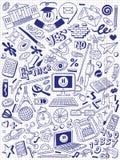 Educação - coleção das garatujas ilustração do vetor
