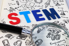 Educação da HASTE Matemática da engenharia da tecnologia da ciência Foto de Stock Royalty Free