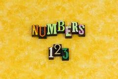 Educação de contagem de aprendizagem dos números 123 fotografia de stock royalty free
