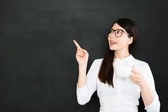 A educação deve despejar o aluno com algo que sabe bem fotografia de stock