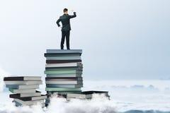 A educação e pensa o conceito Imagens de Stock