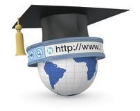 Educação em linha Fotos de Stock