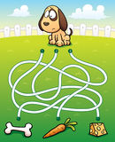 Educação Maze Game Imagem de Stock Royalty Free