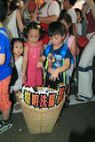 A educação nacional levanta o furor em Hong Kong Imagens de Stock