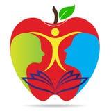 Educação saudável ilustração royalty free