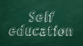 Educación del uno mismo