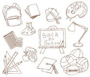 Educación Ilustración del Vector