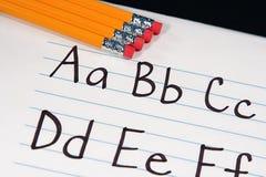 Educación ABCs Imagenes de archivo