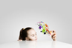 Educación creativa Imagen de archivo libre de regalías