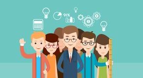 Educación de Group School Children del estudiante libre illustration