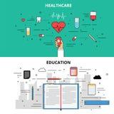 Educación de Infographic Imágenes de archivo libres de regalías