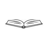Educación de la biblioteca del libro Fotografía de archivo