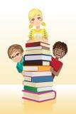 Educación de los niños ilustración del vector