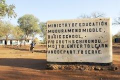Educación de Zambia Fotos de archivo