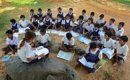 Educación del aire abierto Foto de archivo