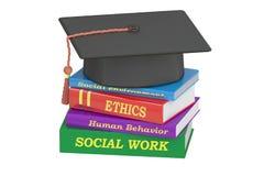 Educación del trabajo social, representación 3D libre illustration
