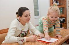 Educación en casa Fotos de archivo