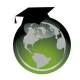 Educación global Ilustración del Vector