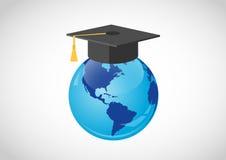 Educación global libre illustration