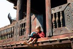 Educación monástica Fotografía de archivo