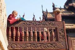 Educación monástica Imagen de archivo