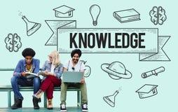 Educación que aprende concepto del conocimiento del estudio de las ideas fotos de archivo libres de regalías