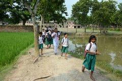 Educación rural Fotografía de archivo libre de regalías