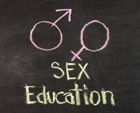 Educación sexual Imágenes de archivo libres de regalías
