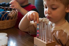 Educación temprana Imagen de archivo libre de regalías