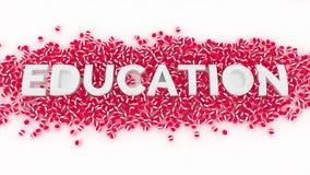 Educación y bolas Imágenes de archivo libres de regalías