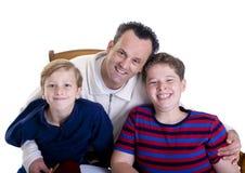 Educación de la familia Fotos de archivo