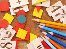 Educación primaria Imagen de archivo libre de regalías
