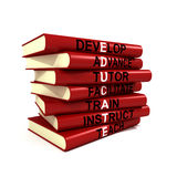 Educate Books Stock Photos
