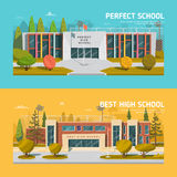 Educate theme vector collection Stock Images
