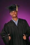 educated студент-выпускник стоковые изображения