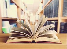 Educated. Book day dictionary world study bookshelf stock images