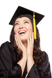 Educated lady Royalty Free Stock Photos